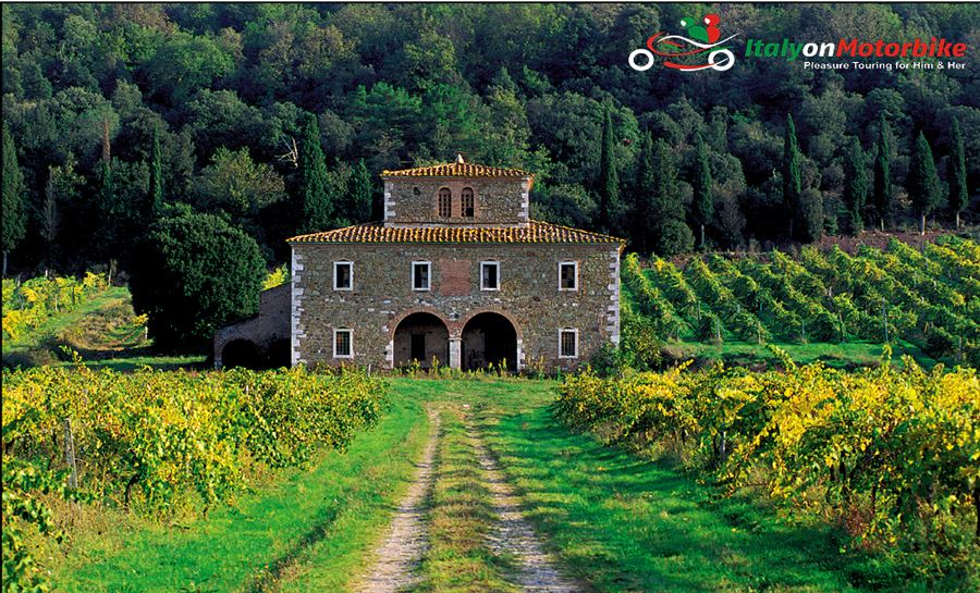 Motorcycle Tour Tuscany from Rome