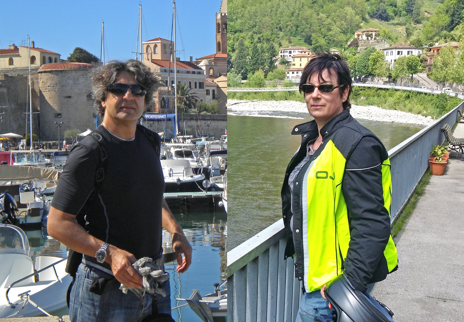 Meet the team of Italy on Motorbike, the founders, Jery and Françoise! Specialist for the best motorcycle tours in Italy!