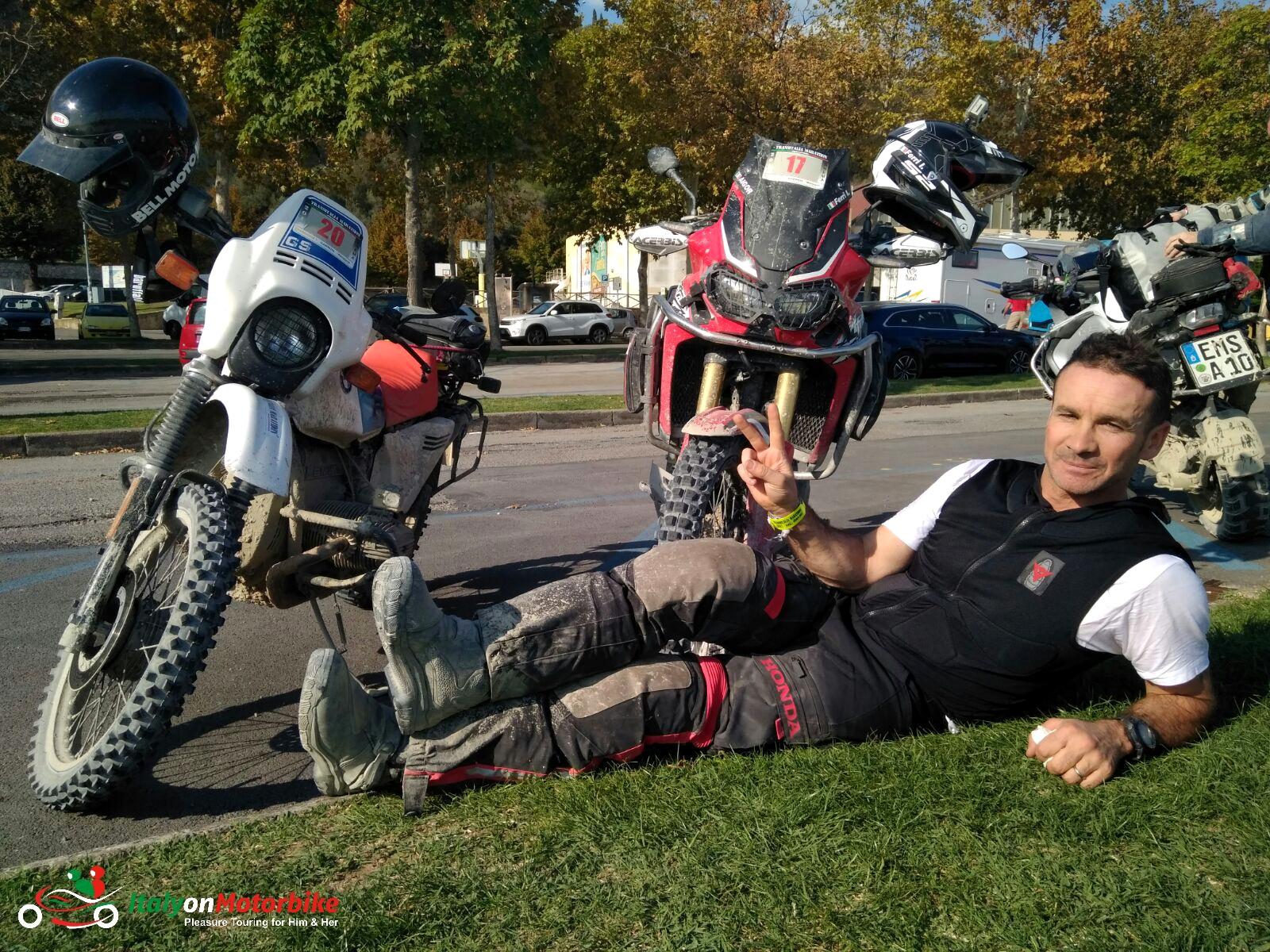 Off-Road Enduro Motorcycle Tour Italy